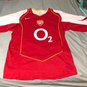 Retro Arsenal home jersey